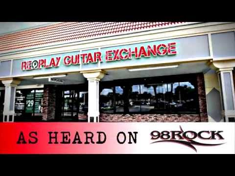 Tampa Guitar Store, Replay Guitar Exchange on 98 Rock