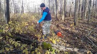Захват для заготовки дров