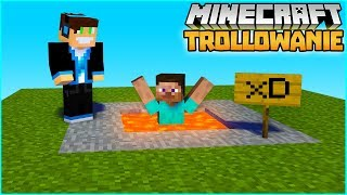 Minecraft Trollowanie! - MEGA CHAMSKO! (#61) | Minecraft Vertez