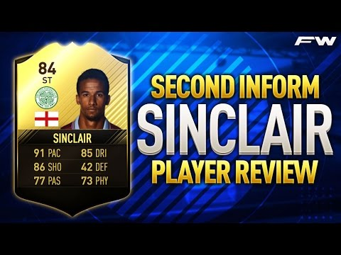 FIFA 17 SIF SINCLAIR Review (84) w/ In Game Stats & Gameplay