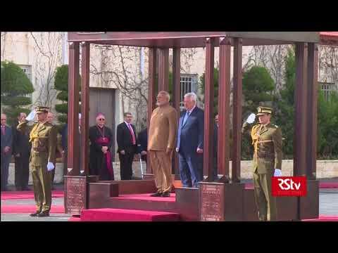 PM Modi receives guard of honour in Ramallah, Palestine