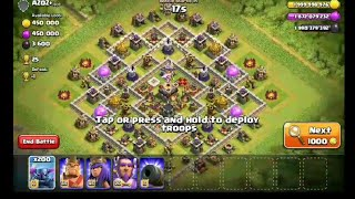 200 Max Pekka Attack To TH 11 Max Base | Clash of Clans Private Server | Wolf Gaming | coc attack