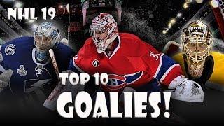 NHL 19 Ratings Predictions TOP 10 GOALIES