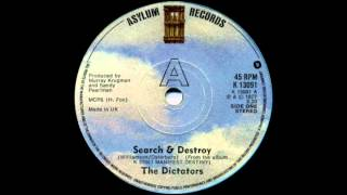 THE DICTATORS   Search And Destroy