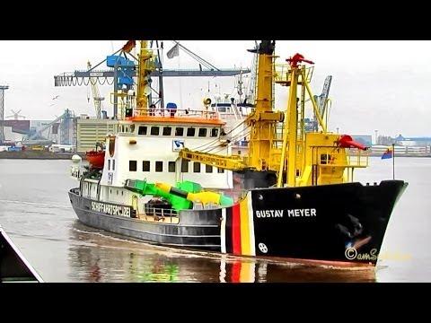 Buoy laying vessel  Gustav Meyer  DBPT IMO 6619425 Emden Germany
