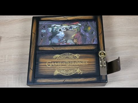 Unboxing Game Of Thrones Limited Collectors Edition DEUTSCH GERMAN