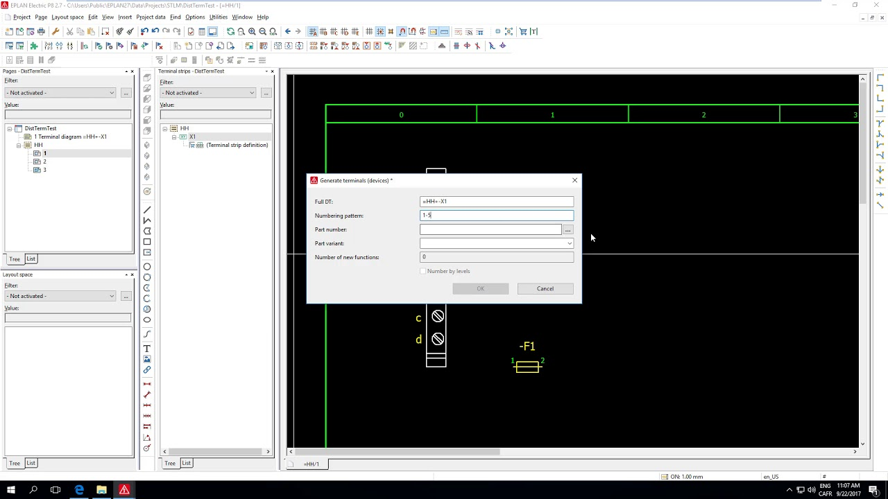 Working with distributed terminals in EPLAN P8 by Luc Morin