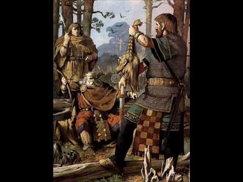 Germans Vikings and Celtics warriors