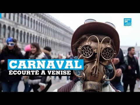 Le Carnaval De Venise écourté à Cause Du Coronavirus