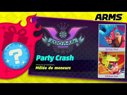 ARMS PARTY CRASH #1  gameplay Nintendo switch