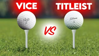 VICE GOLF PRO+ Guerrilla Golf Ball Testing vs Pro-V1