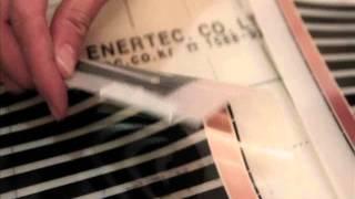 Монтаж инфракрасного пленочного теплого пола DAEWOO(, 2012-06-05T03:52:49.000Z)