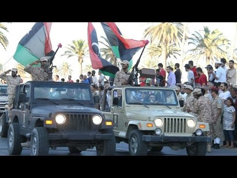 Libya's unrecognised government stages parade in Tripoli
