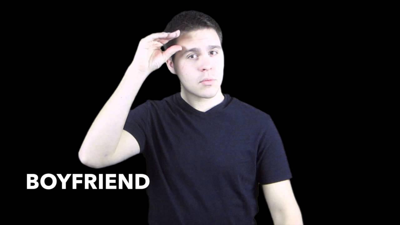 Boyfriend in asl