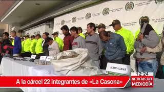 Caen 22 integrantes de 'La Casona' por tráfico de droga en Los Mártires