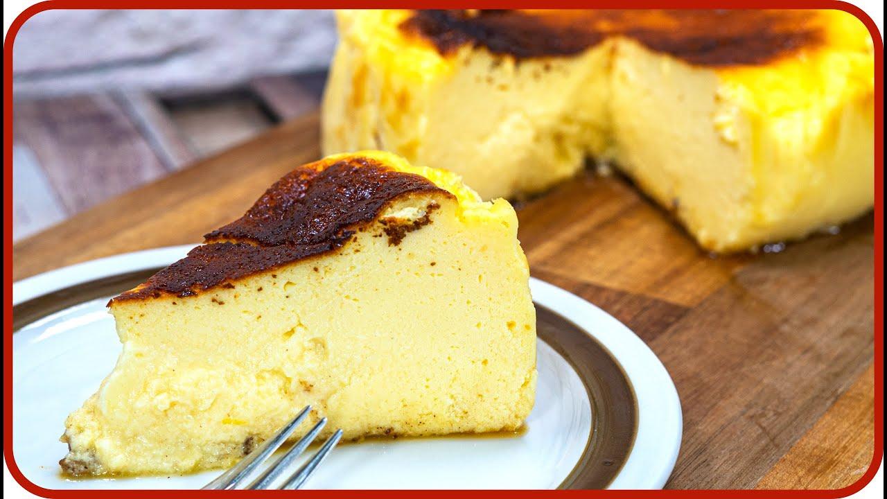 Verbrannter Käsekuchen   San Sebastian Cheesecake Rezept deutsch   20 TIPPS  damit er gelingt