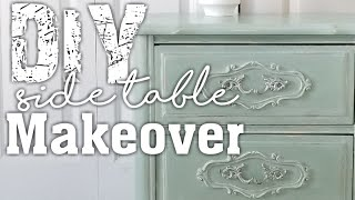DIY Side Table Flip with Chalk paint: How to Furniture Makeover