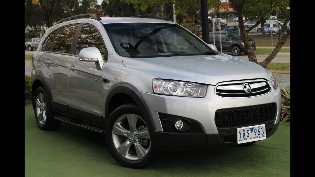 B5267 2011 Holden Captiva 7 Cx Cg Series Ii Auto Awd