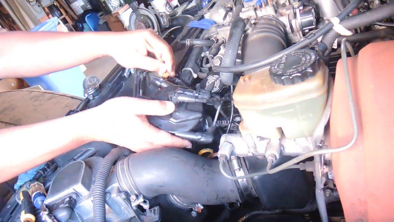 Toyota Repair 3vze Distributor Installation Part 2 Youtube 1994 Hilux Wiring Diagram