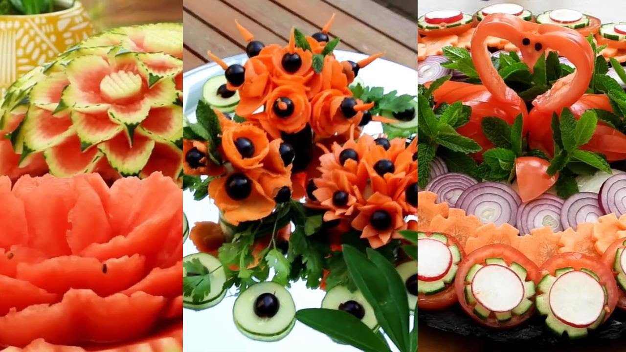 10 Tricks With Fruits And Veggies | Creative Food Art Ideas