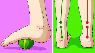 6 Exercices Pour Soigner Les Douleurs Chroniques Dans Les Genoux, Les Pieds ou Les Hanches