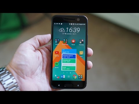 HTC 10 Hands-On: The 10 is said to be about perfection