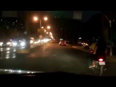 Getting a Fruit Basket and Evening Drive Around Iguala Mexico