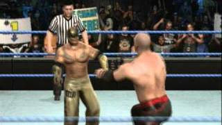 (Part 1) Kane Vs Rey Mysterio (Summerslam 2010 Simulation)