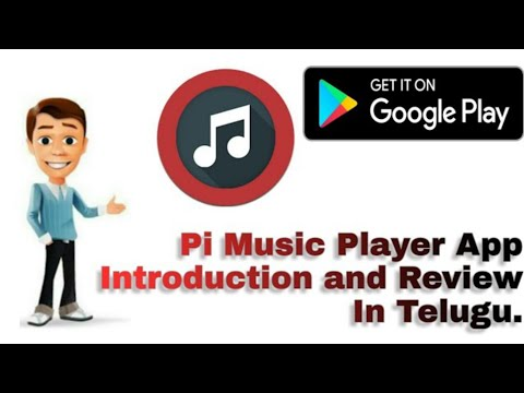 #Pi_Music_Player Android App Introduction and Review in Telugu