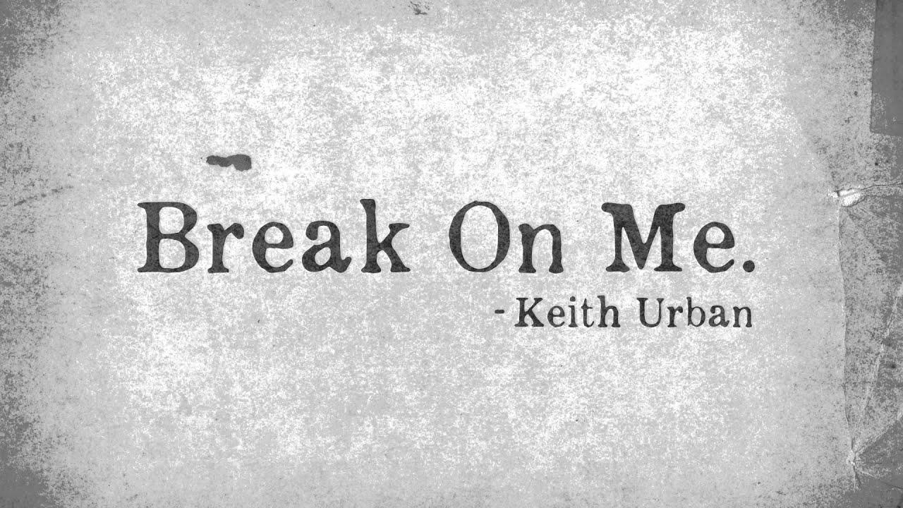 Please do not break me hook up
