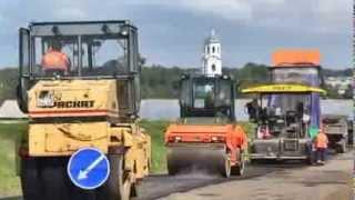 видео асфальтирование в Санкт-Петербурге
