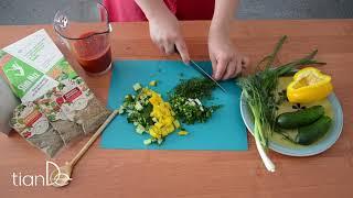 Холодный крем-суп на основе белково-овощного микса с амарантом и брокколи ActiveLife.