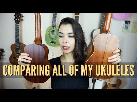 My Ukulele Collection And My Favorites! (Ukulele Buying Guide)
