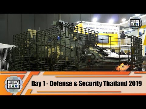 Defense Security Thailand 2019 Tri Service Asian Exhibition Bangkok Show Daily News Video live demo