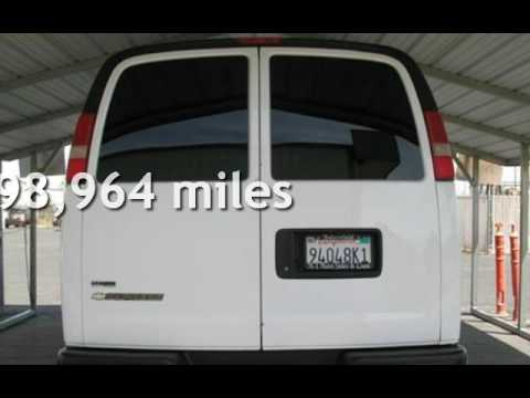 2010 Chevrolet Express 3500 for sale in BAKERSFIELD, CA