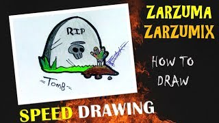 SPEED DRAWING HOW TO DRAW A TUMB EASY AND FAST # 19