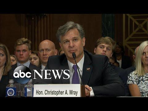 President Trump's FBI director nominee under fire