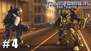 Transformers: The Game - Xbox 360 / Ps3 Gameplay Playthrough Autobot Campaign PART 4