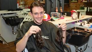 Nicholas Latinovich Donates hair to Locks of Love