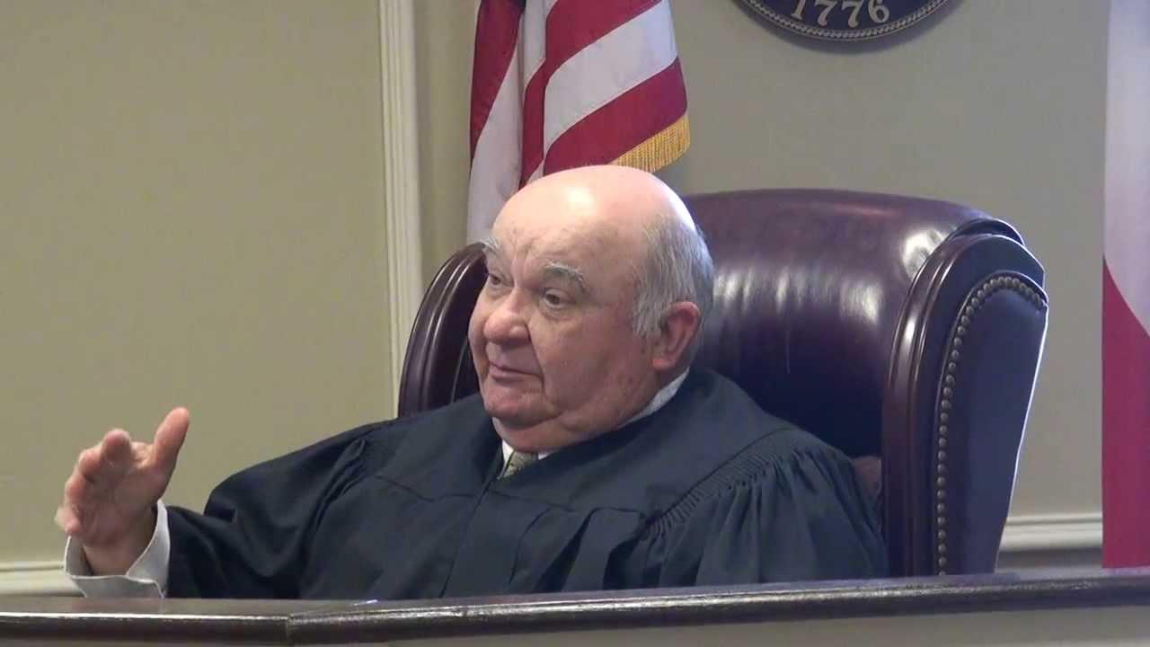 Senior Judge Robert W. Adamson in Attorney General Sam ...