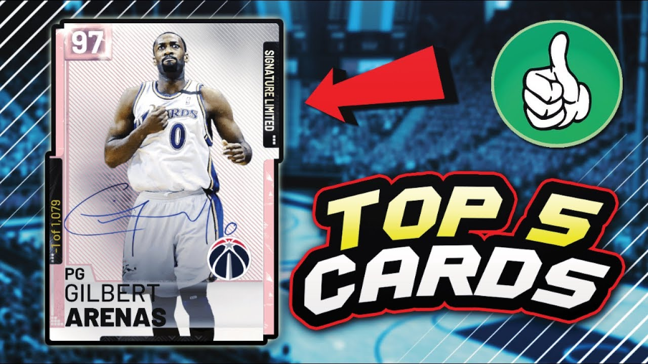 Top 5 Most Overpowered Cards That You Can Buy In Nba 2k19 Myteam January