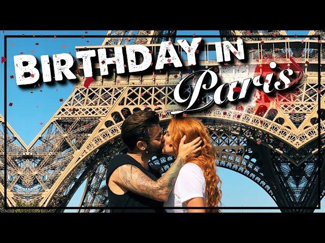 Τα γενέθλια μου στο Παρίσι!   SissyChristidou