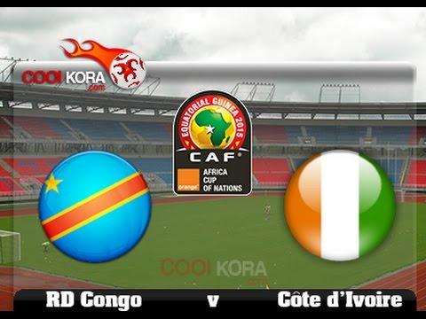 Côte d'Ivoire vs RD Congo  LIVE   (Commentaires)