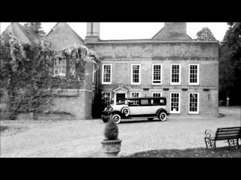 1931 Vintage Limousine Wedding Car at Flitwick Manor