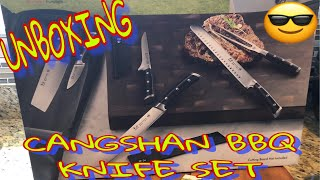 Cangshan S Series 7 Piece Bbq Knife Set Unboxing Part 1 Youtube