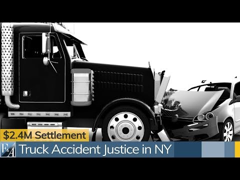 New York City Truck Accident Lawyers Discuss A $2.4M Settlement in a Tractor Trailer Accident Case