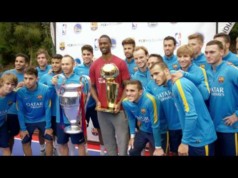Harrison Barnes Meets With FC Barcelona