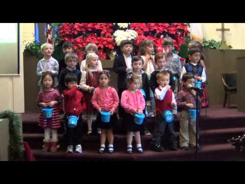 Little Learners PreSchool Children Singing Christmas Carols