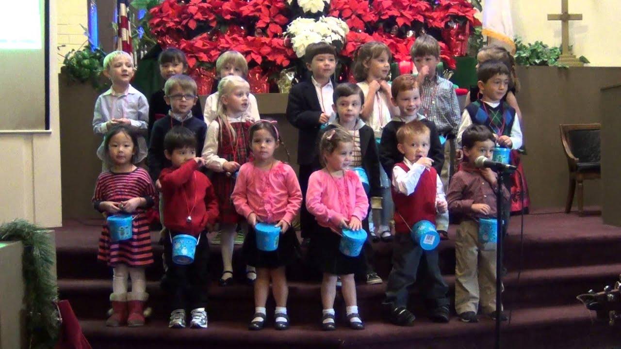 Little Learners PreSchool Children Singing Christmas Carols - YouTube