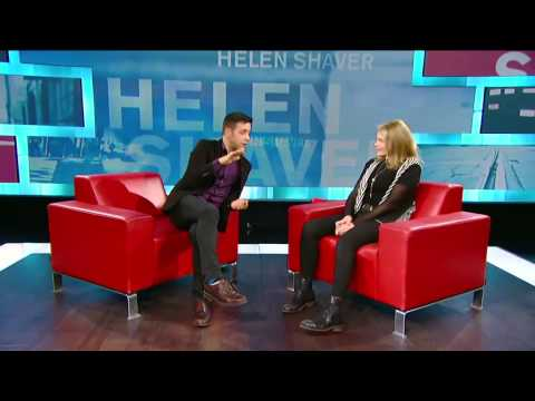 Helen Shaver on George Stroumboulopoulos Tonight: INTERVIEW